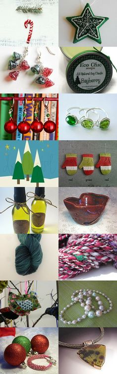Etsy Mile High TGIF Treasury: Deck the Halls!  by Laura and Steph on Etsy--Pinned with TreasuryPin.com
