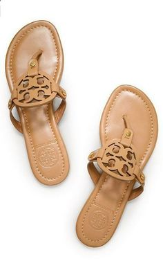 f36a4496c Royal Tan Tory Burch Patent Leather Miller Sandal- want for summer