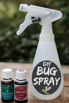 Homemade mosquito repellent that actually works!