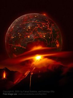 4.5 billion years ago plus, Earth forms