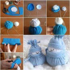come fare un pupazzo di neve 09