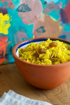 rice with Indian spices and sultanas | Lisa Hjalt