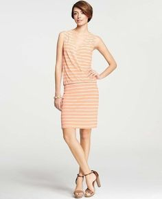 Vacation Dress By Ann Taylor #AnnTaylorLOFT #WrapDress #Casual