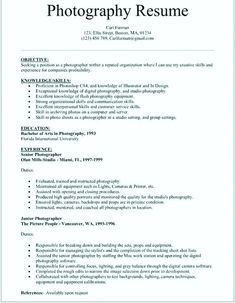 Freelance Photographer Resume Sample Inspirational Grapher Example Of
