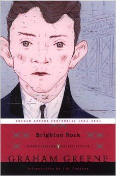 Brighton Rock by Graham Greene. Profound Catholic novel about a soul in hell - and the mercy of God - reviewed here … http://corjesusacratissimum.org/2013/12/brighton-rock-by-graham-greene-review/