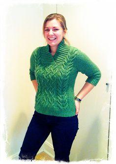 Modification Monday: Circular Beatnik | knittedbliss.com