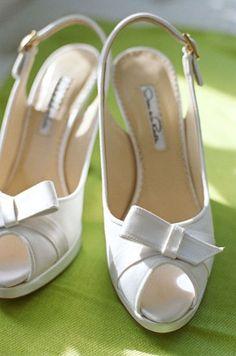 Elizabeth McKay Wedding | White Shoes