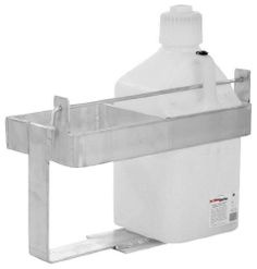 Prairie View Utility Jug/Fuel Can Travel Racks XGCR2 by Prairie View. $98.07. Single, double and triple racks for square jugsCan also be bolted to floor of enclosed trailerLockable retention bar and all hardware includedDouble jug offset base rack