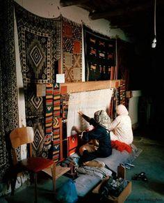 Loom Weaving, Hand Weaving, Mekka, Persian Carpet, North Africa, Carpet Runner, Woven Rug, Handicraft, Fiber Art