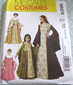 Hey, I found this really awesome Etsy listing at https://www.etsy.com/listing/159465781/uncut-mccalls-costume-sewing-pattern