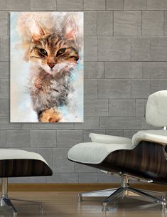 Discover «Cat Saba art», Numbered Edition Acrylic Glass Print by Justyna Jaszke - From $75 - Curioos