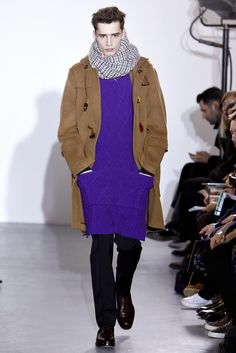 See the complete Raf Simons Fall 2011 Menswear collection.
