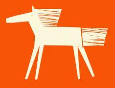 Rob Hodgson, Wild Horse, paper cut