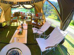 Multi-family camping trip: HQ