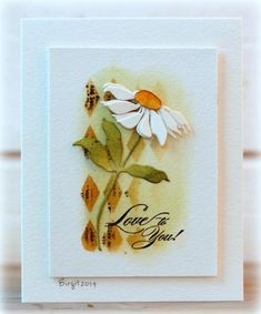 CAS286, TLC495 Love to You by Biggan - Cards and Paper Crafts at Splitcoaststampers