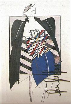 Ferrè' sketch fw 82-83
