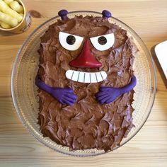 Stinky cake , love it . Moomins