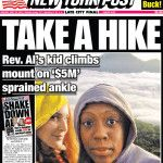 Al Sharpton's Daughter Posts More Hiking Photos While Seeking $5 Million for Sprained Ankle Posted by Jammie on May 19, 2015
