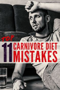 The carnivore diet isn't always easy and when you make mistakes it makes it even harder.  But what if you don't even know the mistakes?  Well, that's why we made a list of the common and not so common ones.  An all meat diet doesn't have to be super hard and with this list it should help make it easier. #diet #dietplan #zerocarb #lowcarb #zerocarbdiet #keto #keetosis #paleo #grassfed #dietlist #weightloss #health Zero Carb Diet, No Carb Diets, Fitness Diet, Fitness Goals, Weight Lifting, Weight Loss, Meat Diet, Paleo, Keto