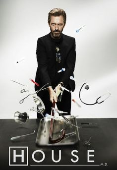 Watch House Online Show Poster Gregory House, House Md, Dr House Quotes, It's Never Lupus, Sean Leonard, Serie Doctor, Medical Series, Everybody Lies, Mejores Series Tv