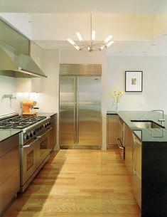 10 Stilvolle Edelstahl Küchen Designs
