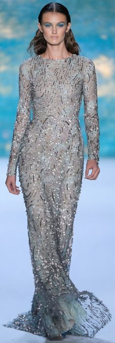 Monique Lhuillier Spring Summer 2013 Ready-To-Wear collection. V