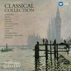 Art & Music 2015 Classical Collection [Warner Classics 0825646089253] ※Claude Monet - Thames at Westminster (Westminster Bridge) 莫內 - 泰晤士河與國會大廈 1871  #albumcover #art #music