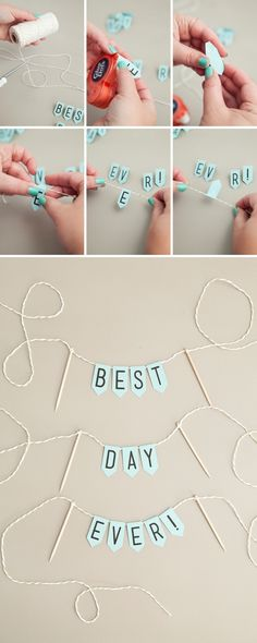 Check out this adorable, free printable mini-banner, so cute!