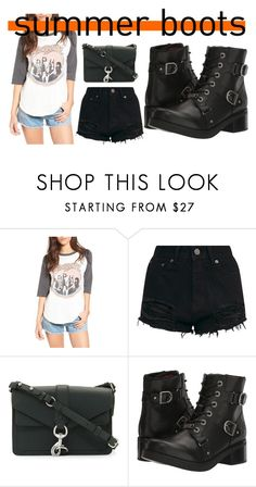 """""""Untitled #2016"""" by moestesoh ❤ liked on Polyvore featuring Junk Food Clothing, Rebecca Minkoff and Harley-Davidson"""