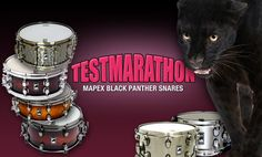 Aktuelle Mapex Black Panther Snares im Test