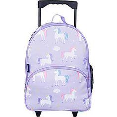 Wildkin Kids Rolling Backpack, Unicorns, Kids Luggage, Wheels ~ NEW Jansport Rolling Backpack, Girls Rolling Backpack, Rolling Bag, Big School Bags, Travel Backpack, Fashion Backpack, Girls Luggage, Underseat Carry On, Backpack With Wheels