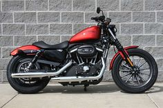 This is my 2013 Harley-Davidson® XL883N Sportster® Iron 883. Can't wait for riding weather!!