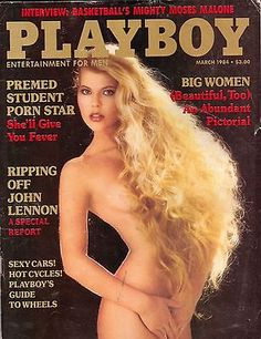 playboy march 1984 mens adult glamour magazine