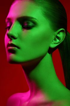 Olya Osokina  Behancé - 26 de marzo de 2014    color portrets    Moda Maquillaje Retoques