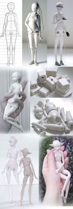 Progress of a doll by ladymeow.deviantart.com on @DeviantArt