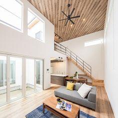Best Interior Home Design Trends For 2020 - Interior Design Ideas Living Room Designs, Living Room Decor, Sofa Design, Interior Design, Dining Sofa, Masculine Interior, Architect House, Japanese House, Dream Decor