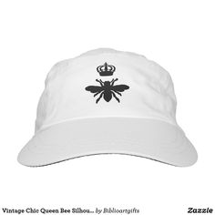 Vintage Chic Queen Bee Silhouette