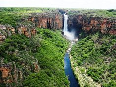 Most Spectacular Water Falls in Australia at Kakadu National Park, Jim J...