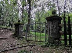 Hylättyjä paikkoja ja kauhutaloja: lokakuuta 2015 > Pitkäniemen sairaalan hautausmaa, Nastola