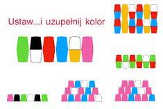 Kodowanie na dywanie: Ustaw kubki...uzupełnij kolor Company Logo, Education, Onderwijs, Learning