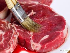 Immagine titolata Cook Rib Eye Steak Step 2