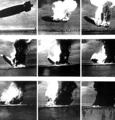Hindenburg in Flames IT ONLY TOOK 30 SECONDS
