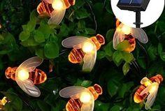 46 Stunning Mid Century Modern Yard Decor To Add To Your List Cute Solar Garden Decoration Outdoor Fairy Lights, String Lights Outdoor, Outdoor Lighting, Exterior Lighting, Small Courtyard Gardens, Outdoor Gardens, Waterfall Lights, Garden Lamps, Small Backyard Landscaping