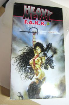 RARE Heavy Metal Fakk Fantasy Knife with Plaque Released in 1999 in Box Collectible Knives, Graphic Novels, Heavy Metal, Artworks, Concept, Fantasy, Comics, Box, Heavy Metal Music