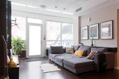 Loft in Toronto, Canada. This ultra CHIC 2-storey loft is located right on East Liberty Street; so no need to deal with elevators, as you'll have your own private entrance with terrace! You can relish in getting a great nights sleep in our super comfortable, custom-made q...