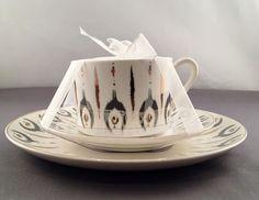 Grace Teaware Teacup Saucer And Plate Set New    eBay