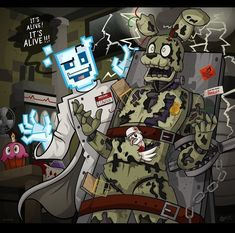 "FOXY THE PİRAT3 FOX on Instagram: ""Scott's 📝Resources / artist: Inglorious Robotics Deviantart 💥🅵 🅾 🅻 🅻 🅾 🆆 💥🅵 🅾 🆁 💥🅼 🅾 🆁 🅴 ⬇️⬇️⬇️⬇️⬇️⬇️⬇️⬇️ @_.foxy.the.pirate.fox._…"" Fnaf 1, Anime Fnaf, Anime Art, Animatronic Fnaf, Scott Cawthon, Fnaf Wallpapers, Le Clown, William Afton, Fnaf Sister Location"