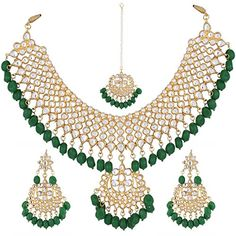 Indian-deals Elegant Bridal Wedding Wear Green Pearls Whi... https://www.amazon.com/dp/B079DRV3WG/ref=cm_sw_r_pi_dp_U_x_VwwCAb0KAHBCC