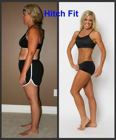 Fit over 40 - This mom got in fitness model shape with Hitch Fit Online Personal Training. Wow!   #Fitover40 #FitnessModel