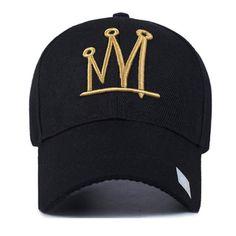 03dcc39e Hip-Hop Hat · Embroidery Crown Handwrite Baseball Cap Baseball Cap Outfit  Summer, Baseball Helmet, Baseball Caps,